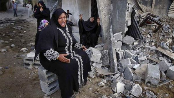 Gaza destroyed by Israel