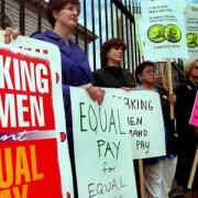 Gender pay gap in USA