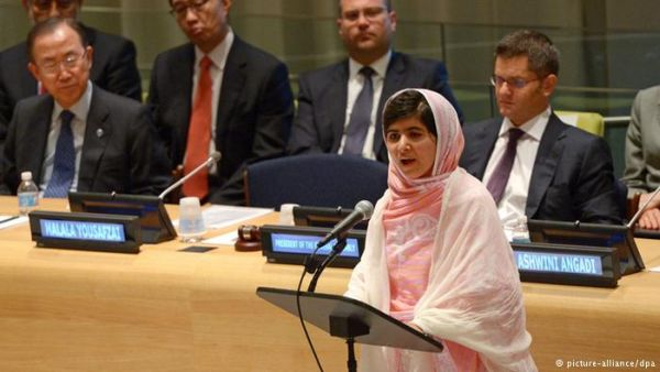 Malala Yousafzai at United Nations
