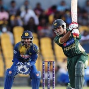sohaib maqsood at Hambantota Pakistan vs Sri Lanka