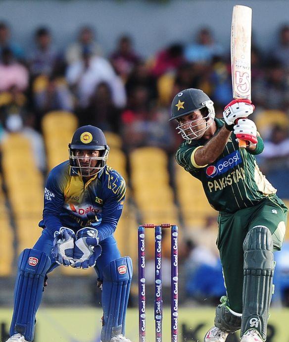 sohaib maqsood at Hambantota Pakistan vs Sri Lanka