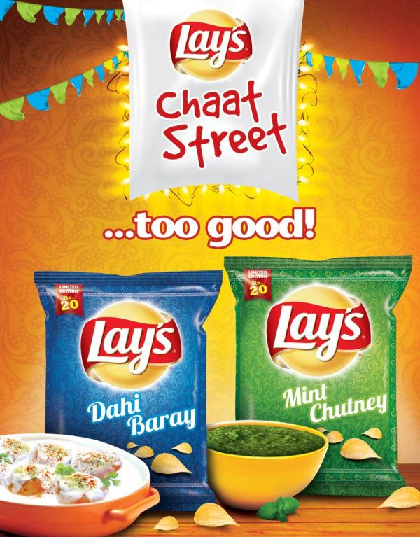 FB Post Lays Chaat Street