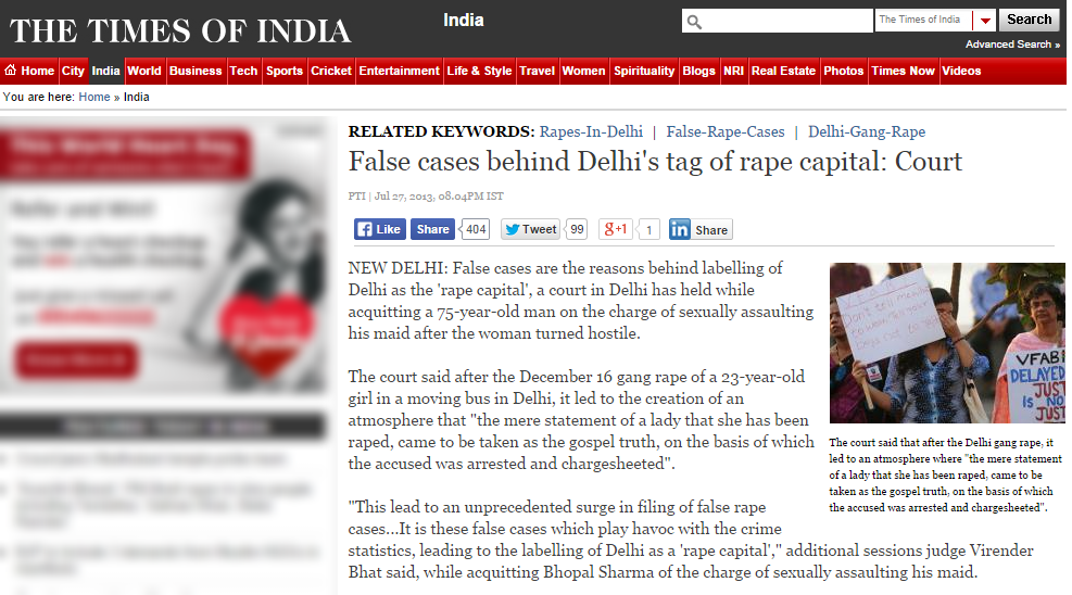 fake times of india
