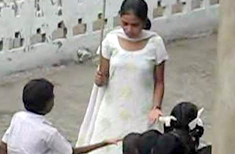 Teacher Beating Child