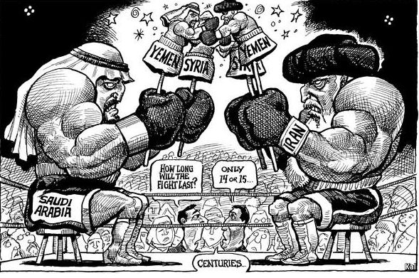 iran vs saudi arabia in yemen
