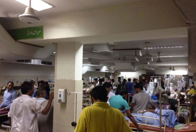 patients of karachi heatwave