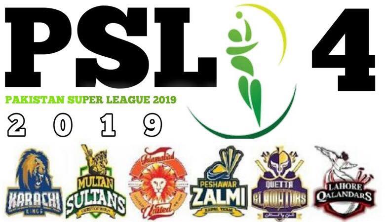 psl season 4 - PSL 2019