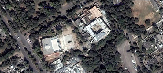 lal masjid google map