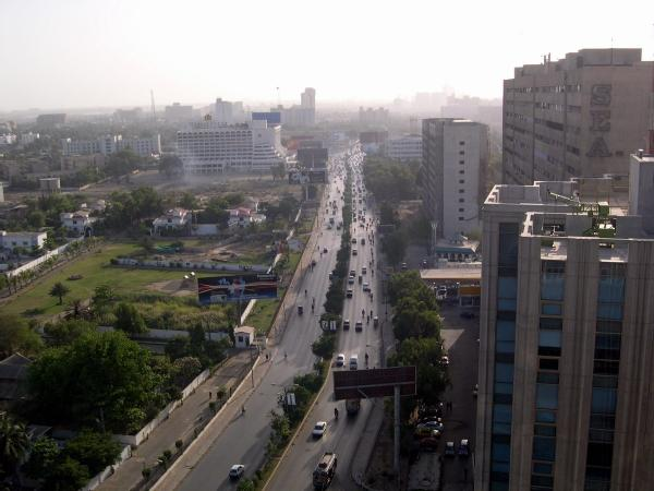 A view of Karachi