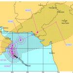 Cyclone Phet approaching Karachi