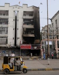 Gulistan Johar Karachi Arson