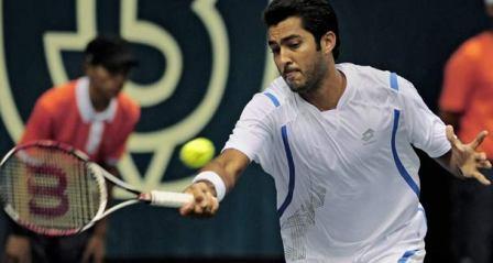 Aisam ul Hqa in US open semi final 2010