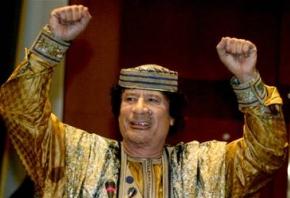 Muamamr Gaddafi