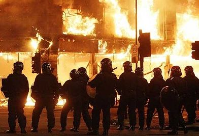 London riots Tottenham