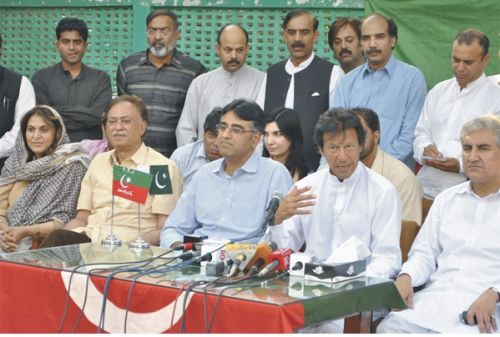 Asad Umar former Engro CEO joins PTI