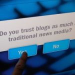 Blogging vs Journalism: Talat Hussain thinks Bloggers are not Journalists