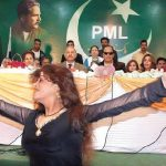 PML-Q leaders Chaudhry Shujaat Hussain, Mushahid Hussain enjoying cultural show dance party