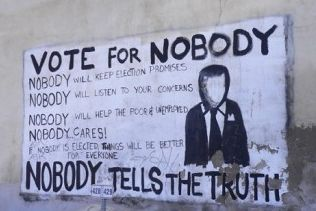 Vote for Nobody - None of the above