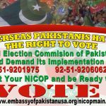 Election Commission of Pakistan rules out Overseas Pakistanis vote