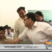 AC slapping Matric student for cheating