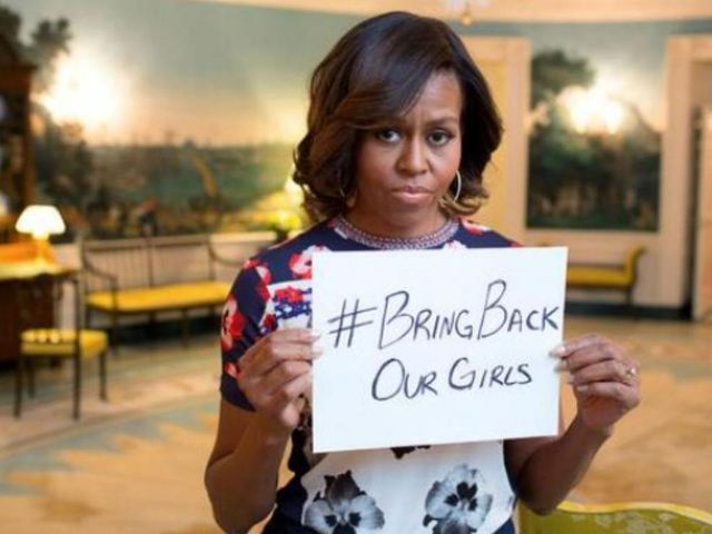 Michelle Obama #bringbackourgirls