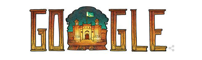 Google Doodle Pakistan Independence Day